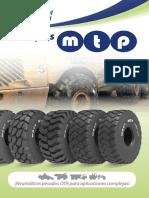 Neumáticos OTR - MTP 2016