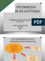 Diapositivas Modelos de Intervencion Psicologica