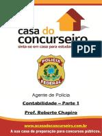 Apostila Pf Agente de Policia Contabilidade Parte 1 Roberto Chapiro