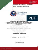 Cordova Manuel Caudales Mantaro Regionalizacion Estadistica Anexos