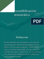 Desensibilizaciuon sistematica