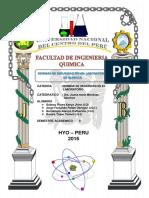 INFORME DE QUIMICA IIn°1