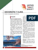 Geografia y clima de japon