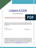 IGNOU's Public Administration material Part-3