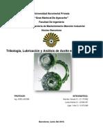 Trabajo de Tribologia Electiva Tecnica