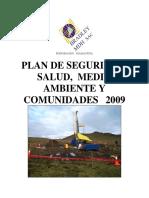 Plan de Seguridad Medio Ambiente y Comunidades