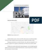 Igesia de Santo Domingo Parada 6