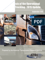 ATRI Operational Costs of Trucking 2015 FINAL 09 2015
