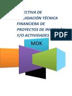 Directiva de Liq. Kimbiri- 2015