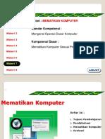 Perangkat Keras Penyimpan Informasi Keluaran Informasi