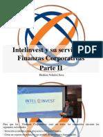 Ibrahim Velutini Sosa - Intelinvest y su servicio de Finanzas Corporativas, Parte II.pptx