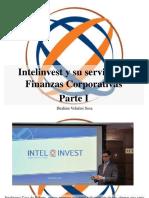 Ibrahim Velutini Sosa - Intelinvest y Su Servicio de Finanzas Corporativas, Parte I