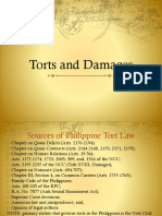 Civil Law Torts Damages Reviewer
