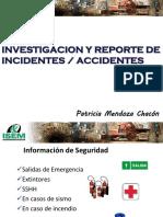 Investigación y Reporte de Incidentes A