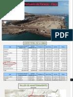 Carta Balance en Muelle de Paracas