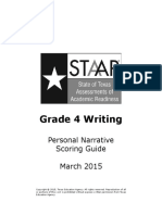 STAAR Grade 4 Writing
