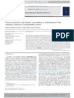 Coercive, normative and mimetic isomorphism as determinants of the.docx