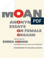 Moan Anonymous Essays on Female Orgasm