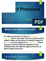 Object Pronouns