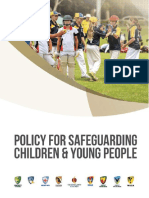 ac policy for safeguarding children and young people