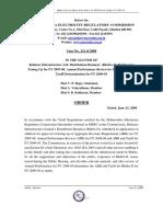 Order_RInfra-D APR [Case No. 121 of 2008]