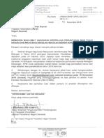 Surat Mohon Anggaran Baik Pulih