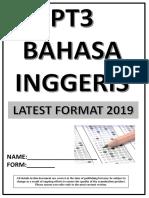 PT3 ENGLISH 2019 LIOW