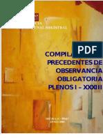 Precedentes_de_Obervancia_Obligatoria_-_Plenos_I_al_XXXIII