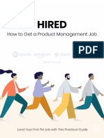 Hired How to Get Job Product Management 2019 v1