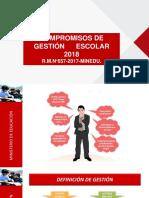 COMPROMISOS DE GESTION ESCOLAR-2018 .pptx