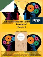 Danilo Díaz Granados - ¿Una Ciencia de La Naturaleza Humana?, Parte I