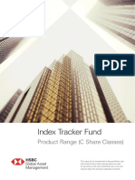 HSBC Index Tracker Fund Product Range