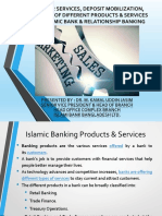 SALES AND MARKETING IN ISLAMIC BANKS