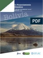 Informe Financiamiento Bolivia Para Cambio Climático