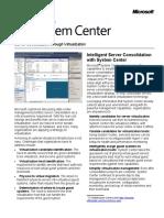 Datasheet - Server Consolidation Through Virtualization - Core IO - FY10