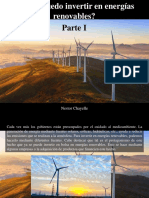 Nestor Chayelle - ¿Cómo Puedo Invertir en Energías Renovables?, Parte I