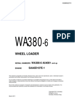 Komatsu WA380-6 Wheel Loader Service Repair Manual SN A54001 and up.pdf