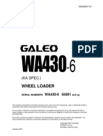 Komatsu WA430-6 Galeo Wheel Loader Service Repair Manual SN65001 and up.pdf