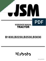 Kubota B2530 Tractor Service Repair Manual.pdf