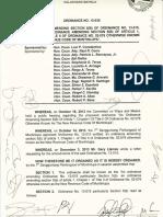 Muntinlupa No. 13 030 Second Amendment to the Wholesellers Distibutors