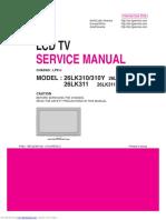 Sharp 21v1l Service Manual