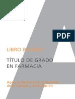Libro Blanco Farmacia Agencia Nacional