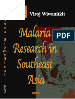 Malaria Research in South East Asia