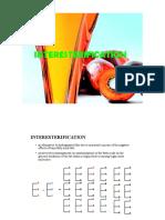 Palm Oil Interesterification