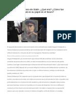 El Modelo Económico de StalinQué Era Cómo Fue Destruído