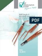 RZ BipoSytle II Non-Stick Forceps