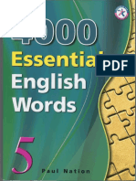 4000 English Words Volume 5