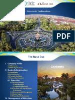 Presentasi ITDC the Nusa Dua 2018