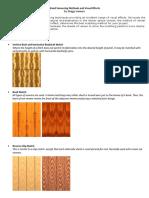 Wood Veneering Methods and Visual Effects