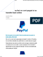 Cont Paypal